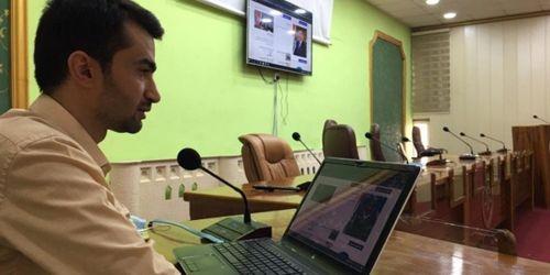 ورشة عمل في جامعة سامراء عن نظام إدارة المحتوى والنشر في الموقع الإلكتروني للجامعة